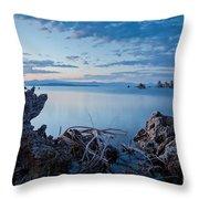Mono Lake After Sunset Throw Pillow