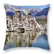 Mono Lake Yosemite Throw Pillow