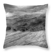 Monochrome Landscape Project 3 Throw Pillow
