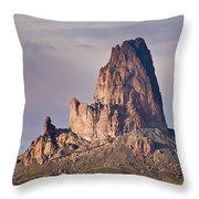 Monolith Throw Pillow by Mike Hendren