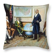 Monroe Doctrine, 1823 Throw Pillow