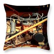 Monster Machine Throw Pillow