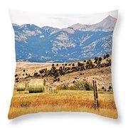 Montana Farm9404 Throw Pillow