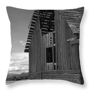 Montana Weathered Barn Throw Pillow