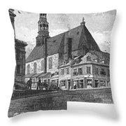 Montreal: Bonsecours Throw Pillow