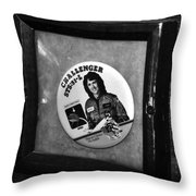 Monument To Courage Throw Pillow