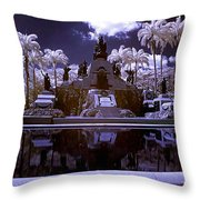 Monument To The Battle Of Carabobo Throw Pillow