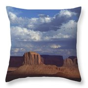 Monument Valley 3 Throw Pillow