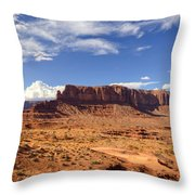 Monument Valley Arizona  Throw Pillow