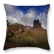 Monument Valley Vista Throw Pillow