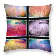 Moods Of The Harvest Throw Pillow