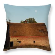 Moon Barn IIi Throw Pillow