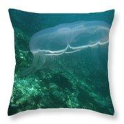 Moon Jelly Fringe Throw Pillow