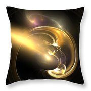 Moon Struck Throw Pillow by Christy Leigh
