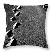 Moon Walk Throw Pillow by Empty Wall