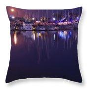 Moonlight Walk Throw Pillow