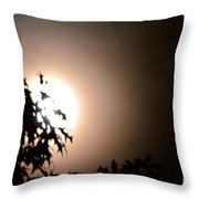 Moonlit Oak Throw Pillow