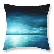 Moonrise II Throw Pillow by James Christopher Hill