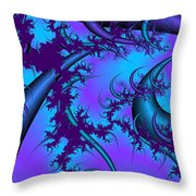 Moons Of Antiquity Throw Pillow