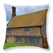 Moot Hall Aldeburgh Throw Pillow
