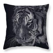 Moquito El Tigre Throw Pillow