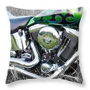 More Chrome 2 Throw Pillow