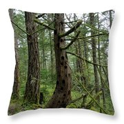 More Island Tree Art Throw Pillow