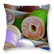 More Loose Threads Throw Pillow