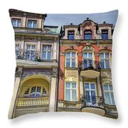 More Posnan Shops - Poland Throw Pillow