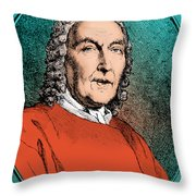 Morgagni, Italian Anatomist Throw Pillow