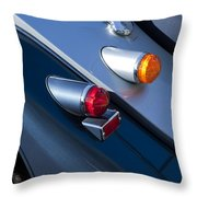 Morgan Plus 8 Tail Lights Throw Pillow