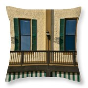 Morning Above The Bar Throw Pillow