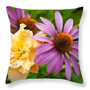 Morning Bouquet Throw Pillow