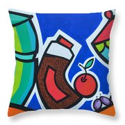 Morning Energy Throw Pillow