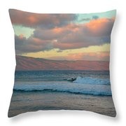 Morning In Maui Throw Pillow