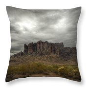 Morning In The Supes  Throw Pillow