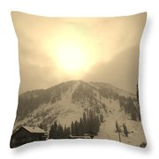 Morning Light Throw Pillow by Michael Cuozzo