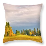 Morning On The Dufort Throw Pillow