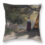 Morning Pleasantries Throw Pillow