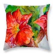 Morning Revelry Throw Pillow