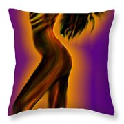 Morning- Stretch Throw Pillow