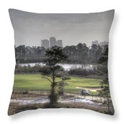 Morning Tee Throw Pillow