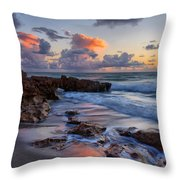 Mornings Reflections Throw Pillow