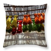 Moroccan Bazaar II Throw Pillow