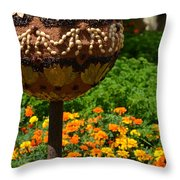 Moroccan Garden IIi Throw Pillow