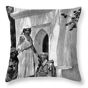 Morocco: Fortune Teller Throw Pillow