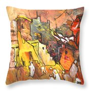 Morocco Impression 01 Throw Pillow