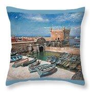 Morocco Throw Pillow