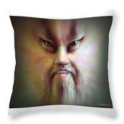 Morph Throw Pillow by Brian Wallace