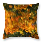 Morphing Colors Throw Pillow